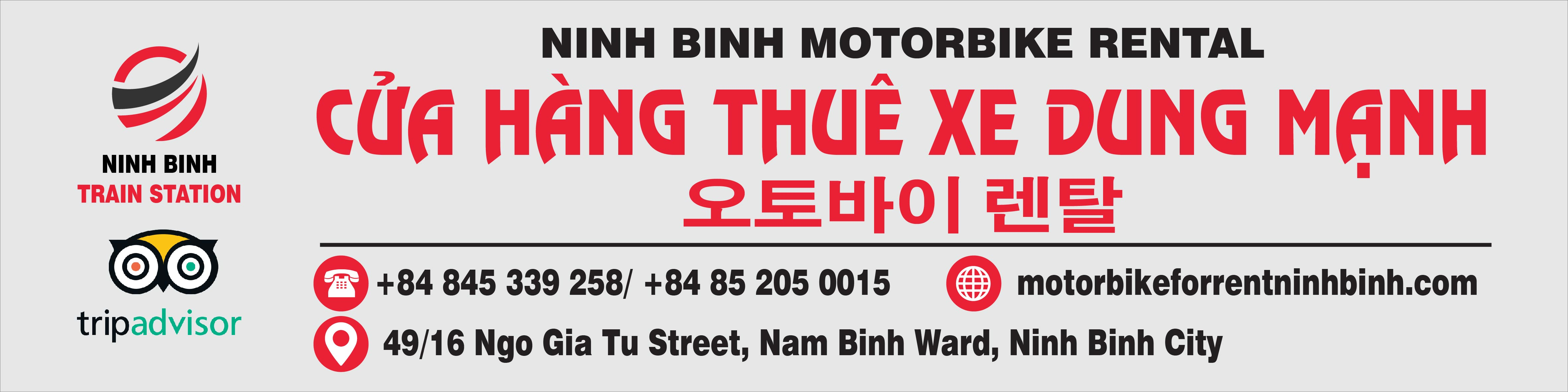 Motorbike For Rent Ninh Binh
